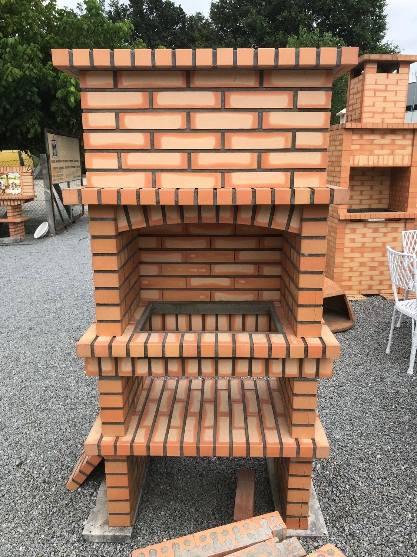 Barbecues en brique - transport et TVA inclus