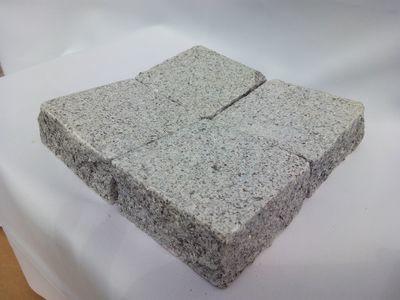 Pavé granit Gris/bleu rectifié - prix au m2