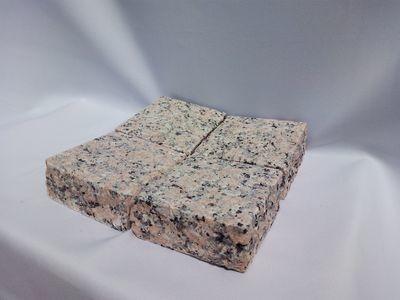 Pavé granit Rose rectifié - prix au m2