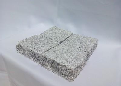 Pavé granit Gris clair rectifié - prix au m2