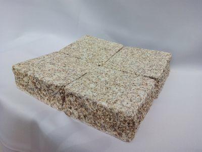 Pavé granit Jaune Beige rectifié - prix au m2