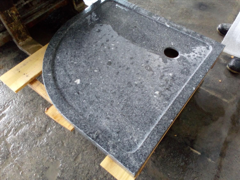 Base de douche en granit