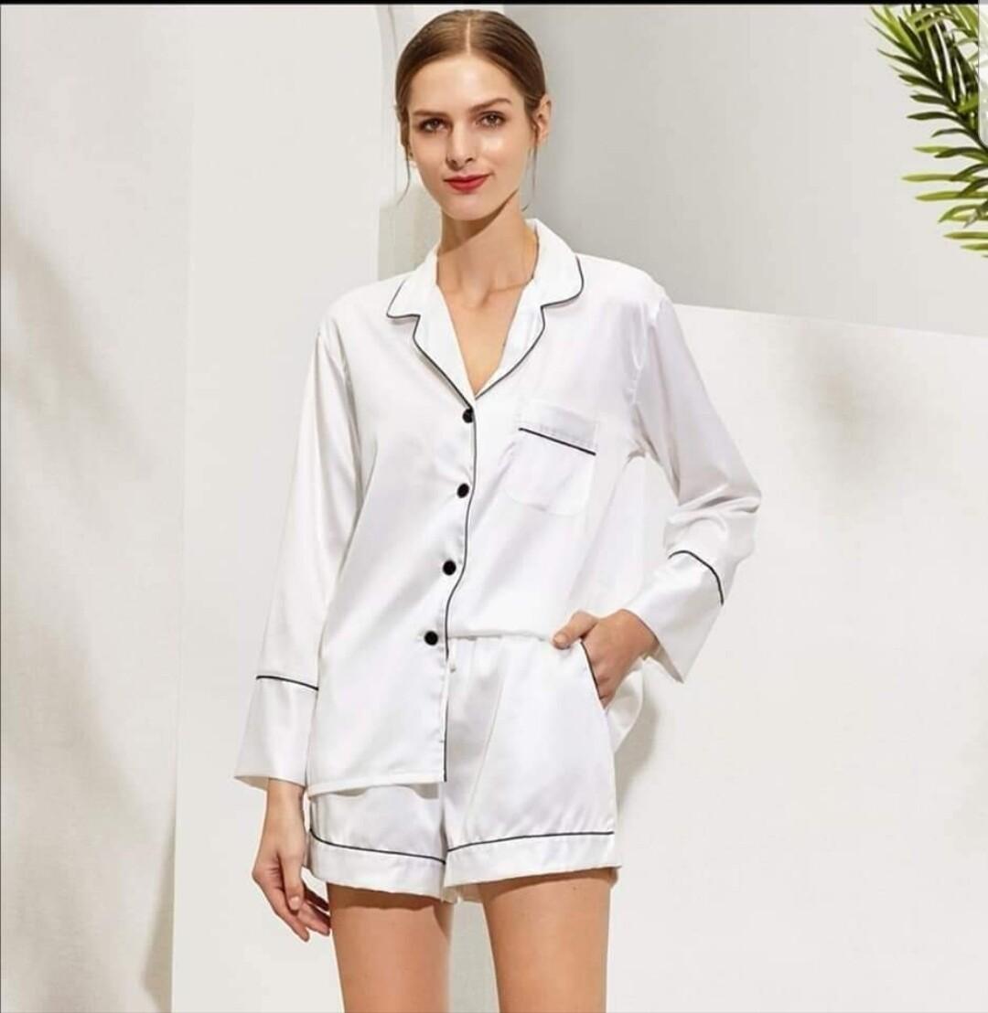 Personalised Satin Pyjamas