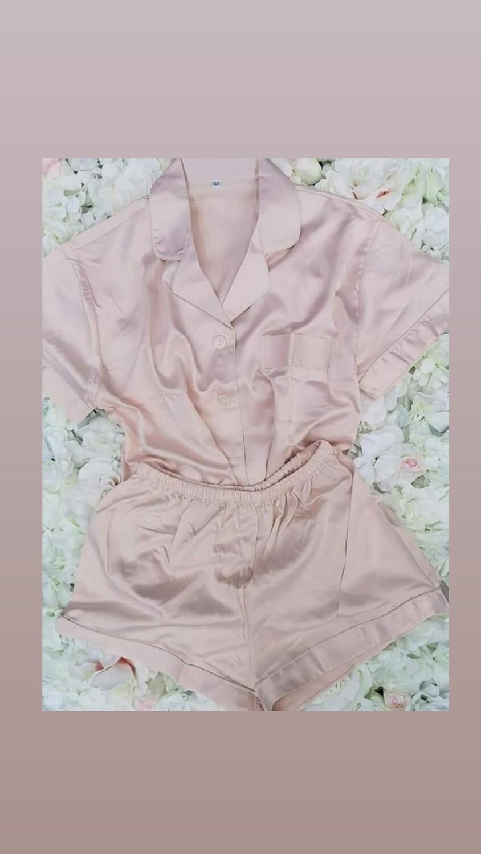 Personalised Satin Pyjama Set