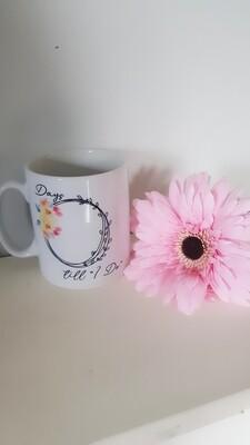 Wedding Countdown Mug