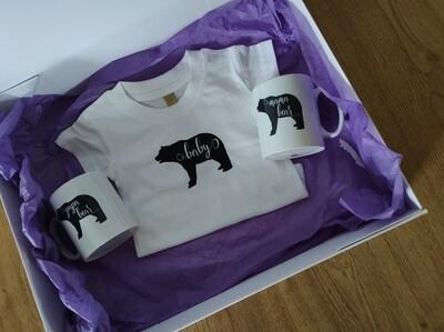 Bear Family Newborn Gift Set
