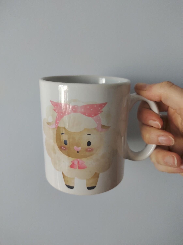 Girly Sheep Mug