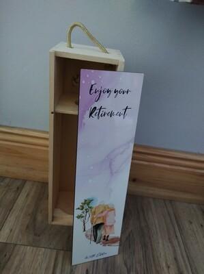 Personalised Wine Bottle Box