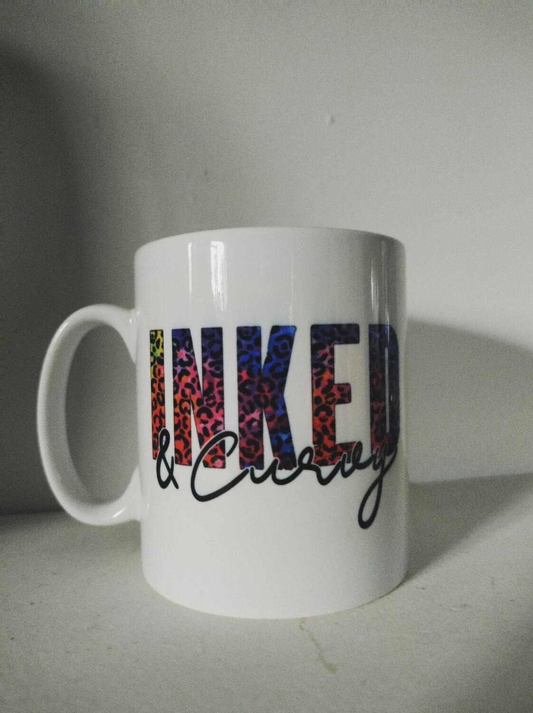 Inked and Curvy Mug