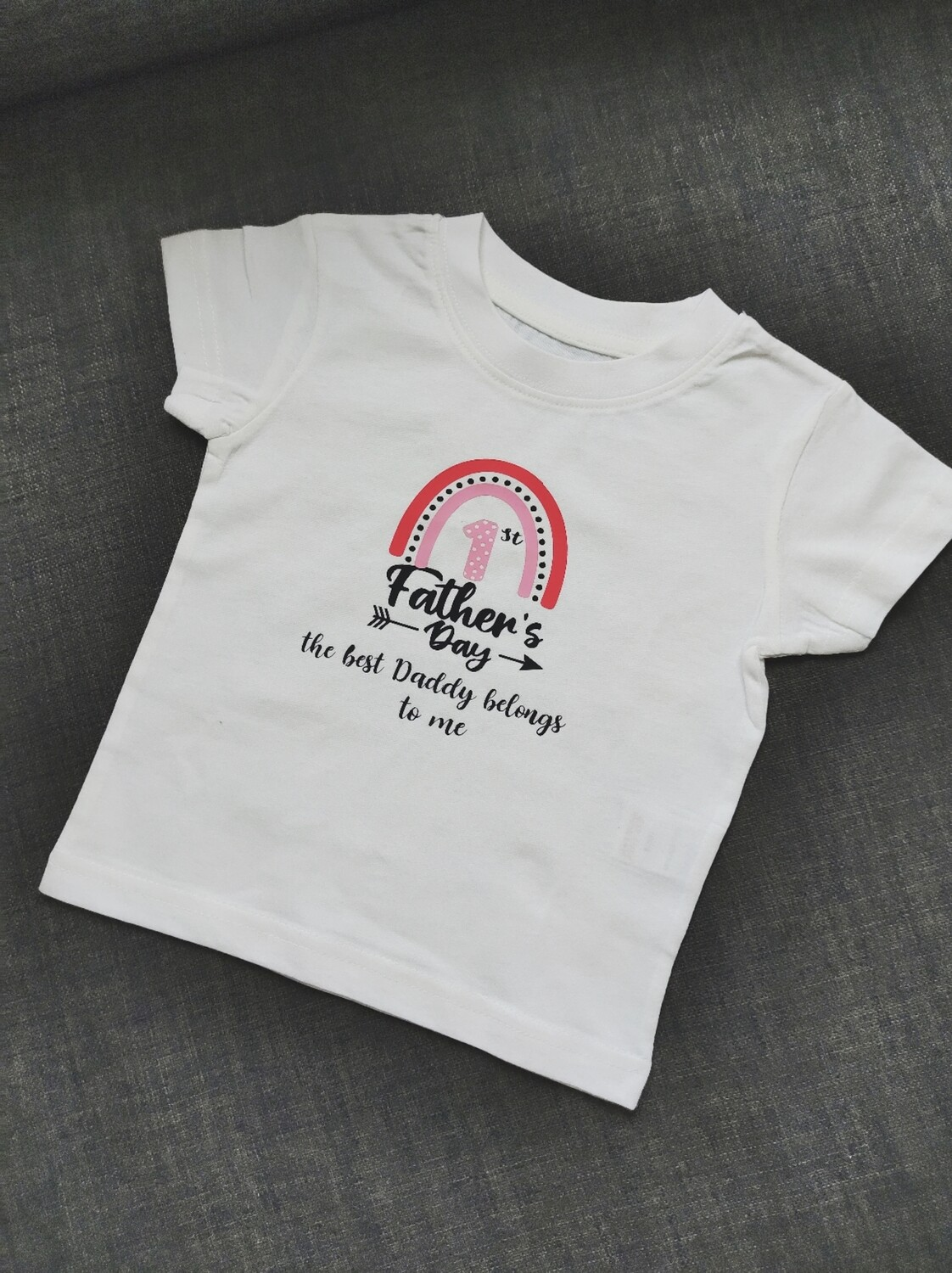 1st Father's Day Kids T-shirt