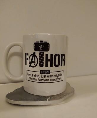 Father's Day Thor Style Mug