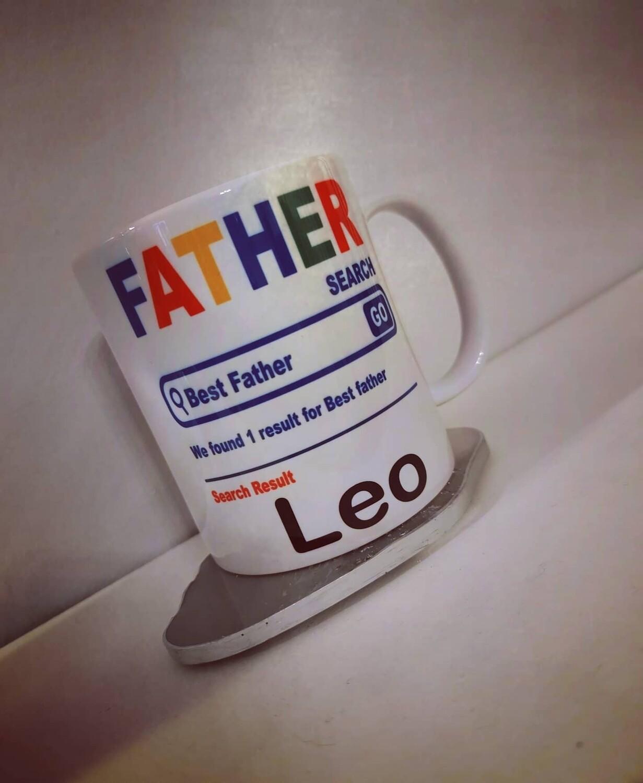 Google Search Father's Day Mug
