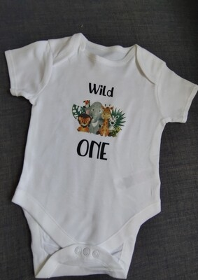 """Wild One"" Birthday Top"