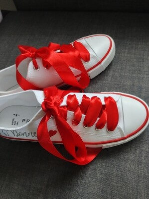 Personalised Converse Style Runner Decals