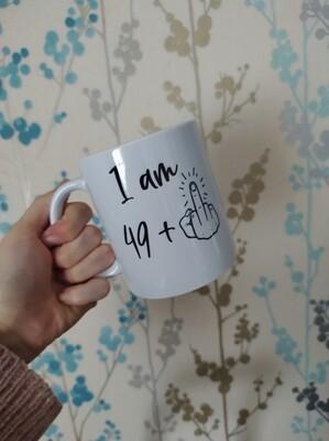 50th Birthday Humour mug