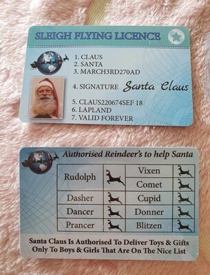 Santa Licence