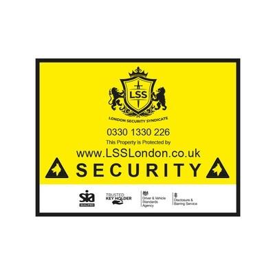 Security Plaque