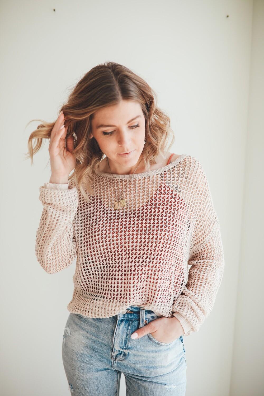 Goldie Crochet Top