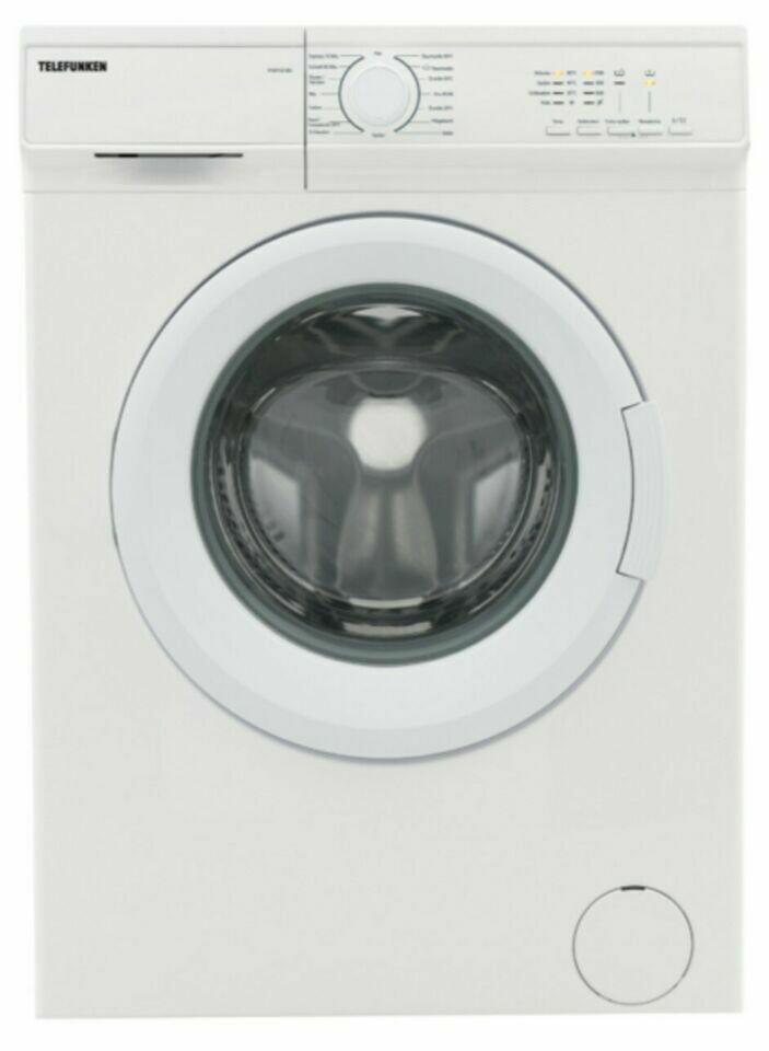 Telefunken TFW 4121 BD A+++ Waschmaschine 6 kg 1200Upm 42cm Tief !