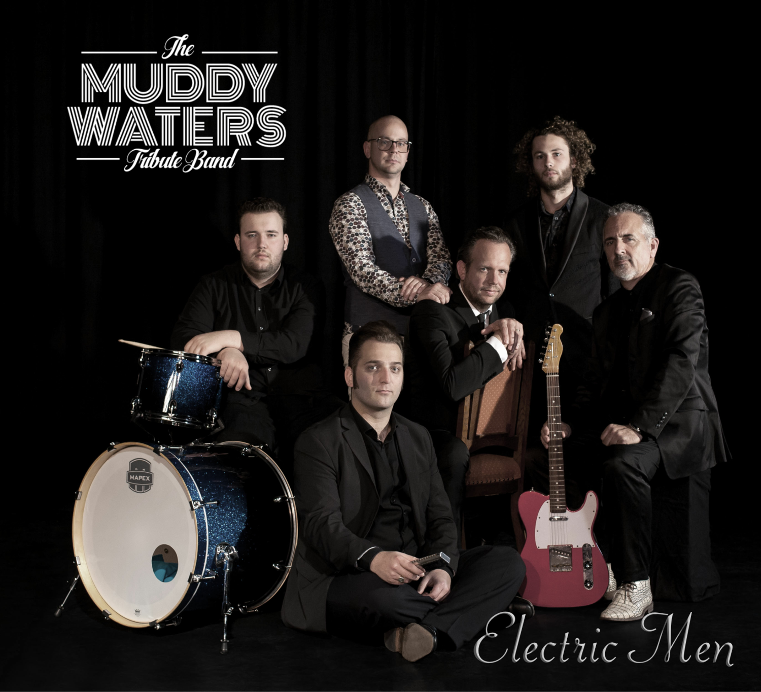 """NEW!!! The Muddy Waters Tribute Band - """"Electric Men"""""""