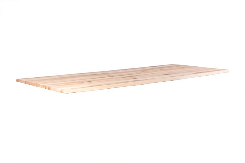 Massief Eiken Tafel H129 (Pole Grey 220x100 cm)