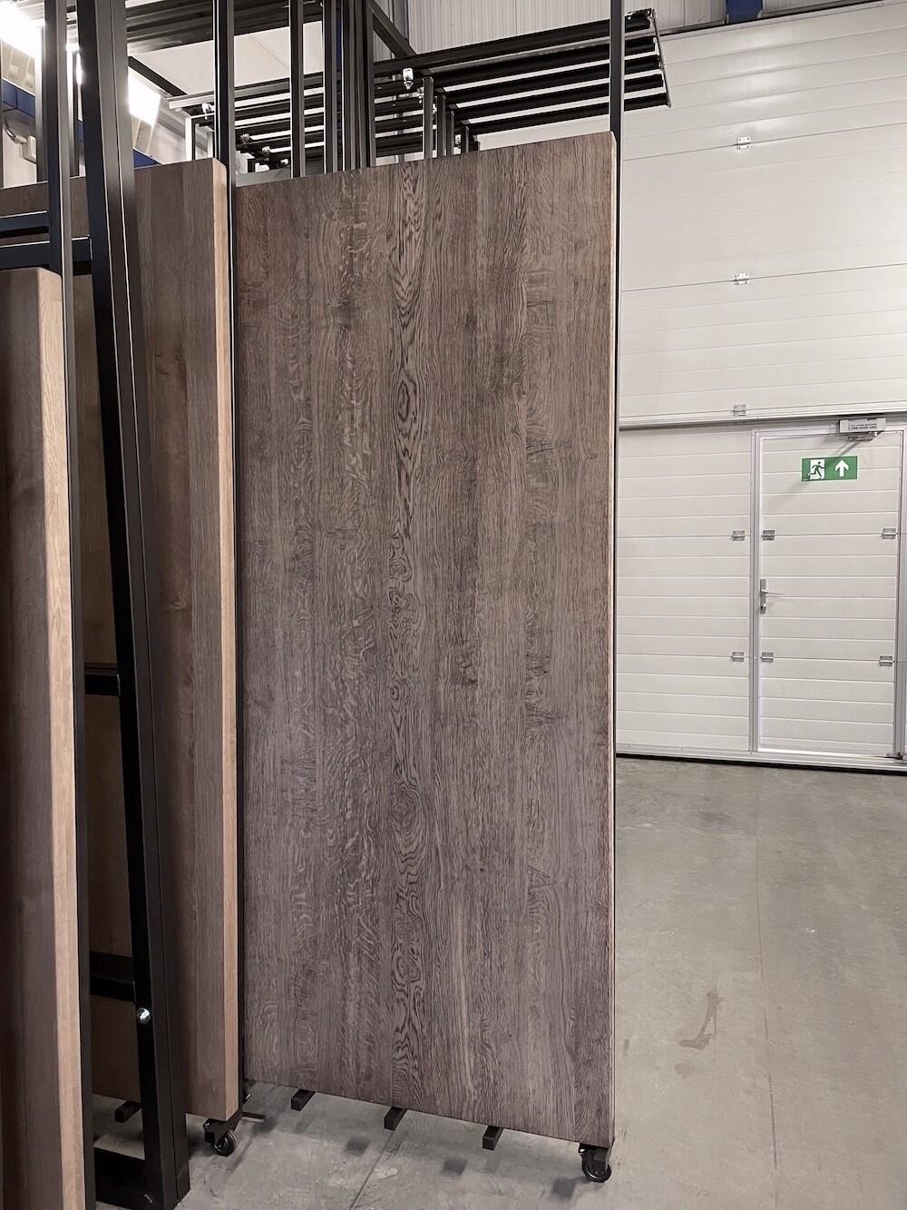 Massief Eiken Tafel H128 (Pole Grey 240x100 cm)