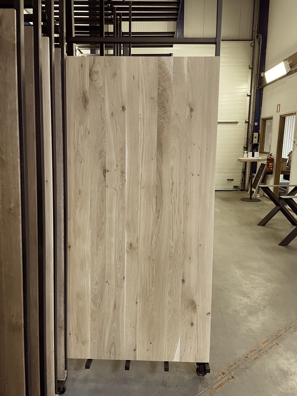 Massief Eiken Tafel H132 (Basic 200x100 cm)