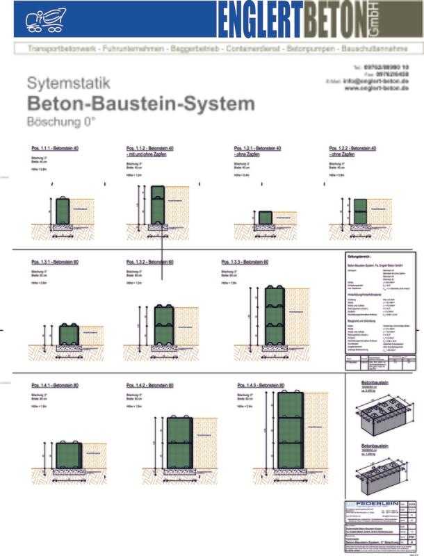 Betonstein40 160/40/40