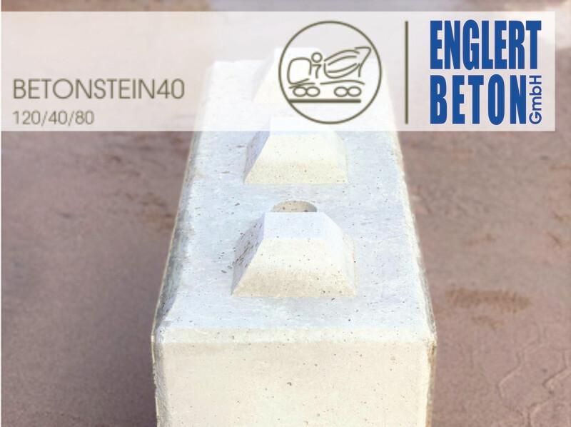 Betonstein40 120/40/80