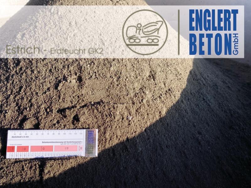 Zementestrich2 300kg Zement