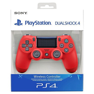 SONY CONTROLLER DUALSHOCK 4 V2 MAGMA RED WIRELESS