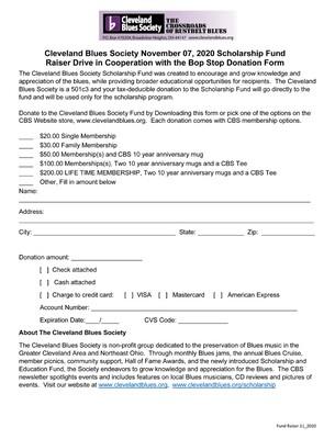 Scholarship Donation with Membership