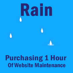 Rain Maintenance (1 Hour)