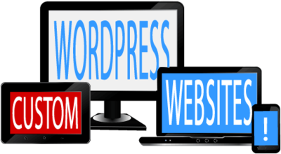 Custom Designed WordPress Website