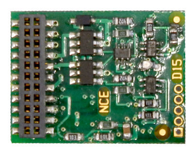 D16MTC   21 Pin decoder - fits most new Athearn Locos