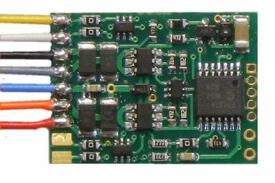 D13WP decoder with 8 pin plug smaller replacement for D13SRP