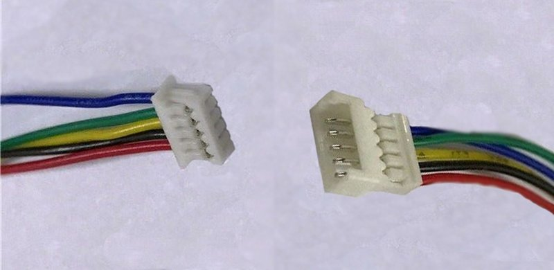 5 pack of 5 pin wiring harness sets