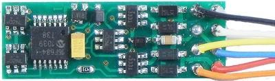 N14SR, narrow generic decoder, 1 Amp, 4 functions