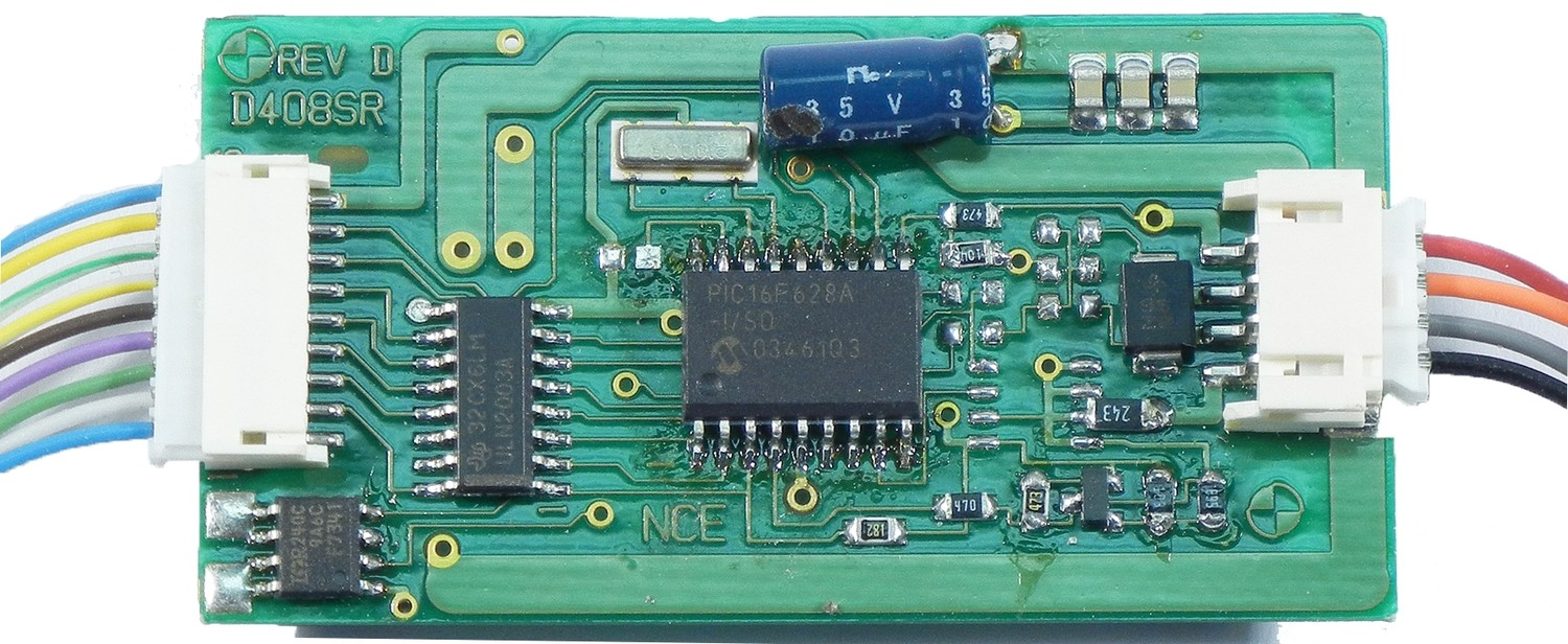 D408 decoder 4 amp, 9 functions