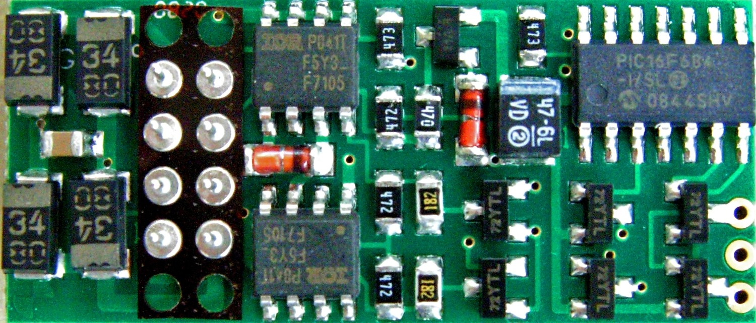 P2K-SR decoder for the LifeLike Proto 2000 GP7/9/30 and SD60