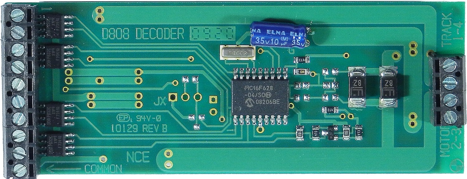 D808 decoder 8 Amp, 8 Functions