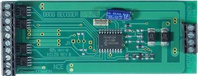 D808 decoder 8 Amp, 8 Functions
