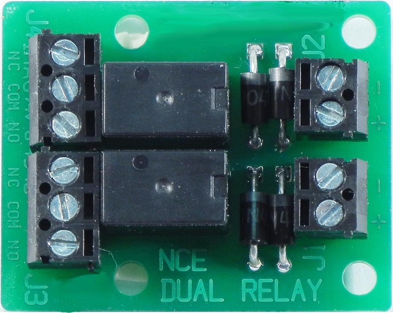 Dual relay board for isolated output of Switch8 or Switch-It.