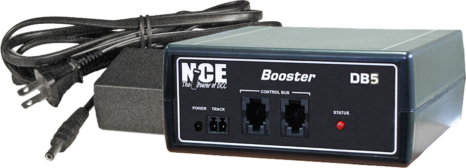 DB5 5 Amp standard booster with International Power Supply