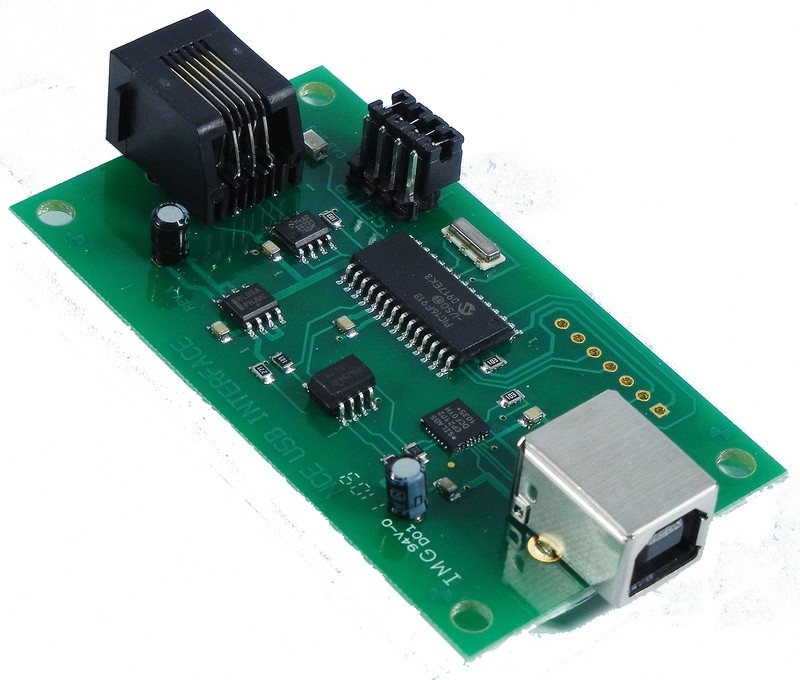 USB Interface for Power Cab