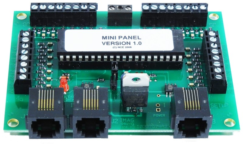 Mini Panel - Automation Controller for NCE DCC Systems