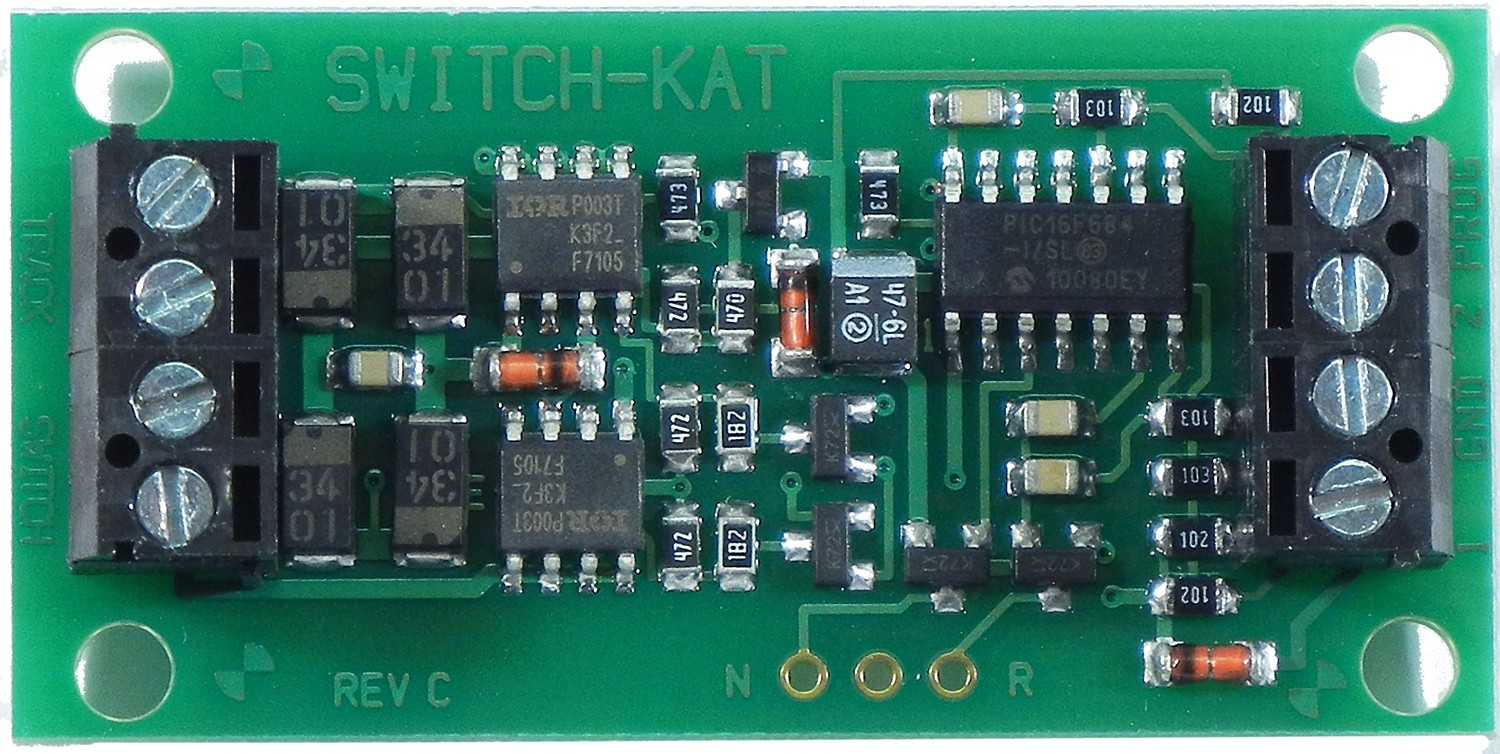 Switch-Kat, Accessory Decoder for Kato and LGB turnouts