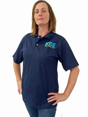 Official NCE Shirt Navy Blue - Medium
