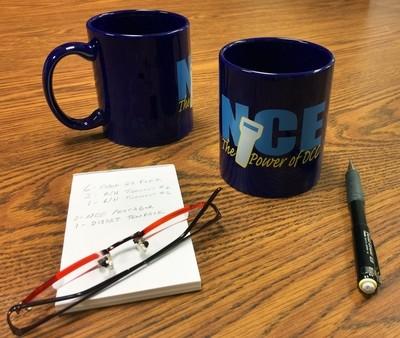NCE coffee mug