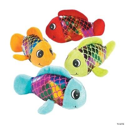 Shiny Plush Fish Toy